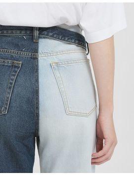 Jeans Con Cintura Laterale by Maison Margiela