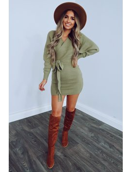 picture-perfect-dress:-olive by hopes