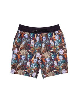 Nermaissance Swim Shorts (Multi) by Ripndip