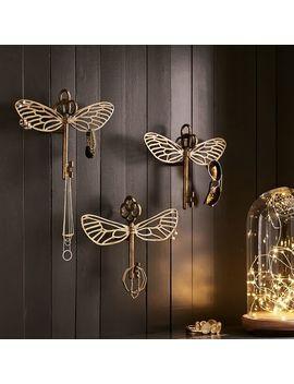 Harry Potter™ Flying Key Jewelry Hooks, Set Of 3 by P Bteen