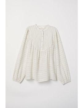 blouse-met-ingeweven-dessin by h&m