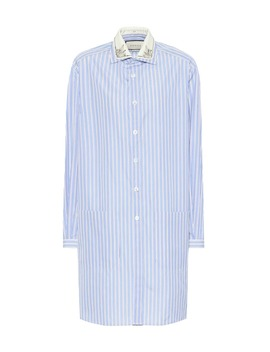 striped-cotton-shirt by gucci