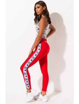 champion-high-waist-logo-tape-legging by akira