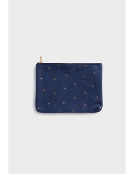 Delfonics   Cotton Pouch   Star Collection   Dark Blue by Delfonics
