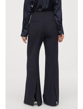 calças-elegantes-em-sarja by h&m