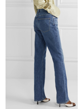 organic-high-rise-flared-jeans by agolde