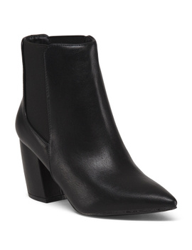 pointy-toe-boots by qupid