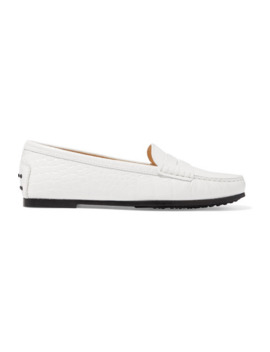gommino-croc-effect-leather-loafers by tods