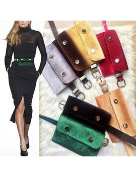womens-waist-fanny-pack-phone-key-bum-bag-belt-purse-pu-leather-lady-charm-new by wish
