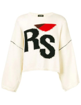 pullover-mit-zopfmuster by raf-simons