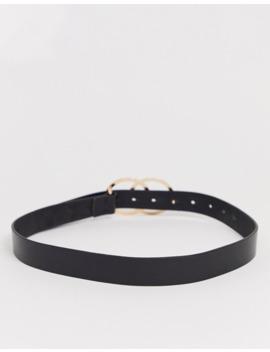 cinturón-para-vaqueros-de-cintura-y-cadera-con-círculo-doble-en-cuero-de-asos-design by asos-design