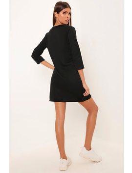 black-sweatshirt-dress by i-saw-it-first