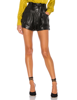 savon-leather-shorts by lacademie