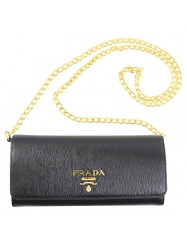 Leather Crossbody Bag by Prada