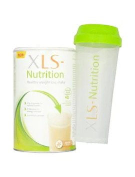 xls-nutrition-healthy-weight-loss-shake-&-shaker---vanilla by superdrug