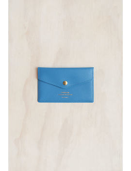 Delfonics   Quitterie Card Case   Blue by Delfonics