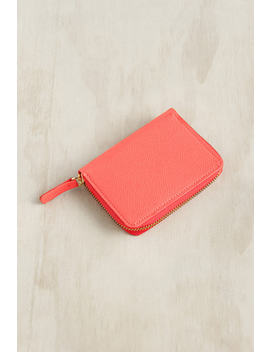 Delfonics   Curiosite Round Card Case   Pink by Delfonics