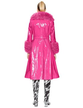 foxy-shearling-gloss-neon-pink by saks-potts