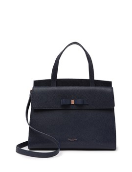 aarilli-bow-leather-satchel by ted-baker-london