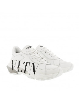 Vltn Bounce Sneaker White by Valentino