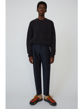 pleated-trousers-navy-blue by acne-studios