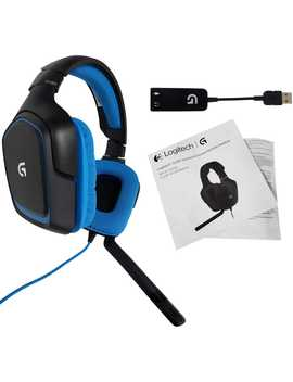 logitech-g430-stereo-gaming-noise-cancelling-wired-gaming-headset-for-pc,-ps3,-ps4-(981-000536)-(non-retail-packaging) by logitech