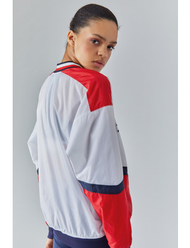 Pull Over Jacket With Iconic Rib by Tommy Hilfiger