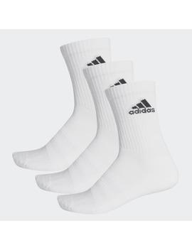 cushioned-crew-socks-3-pairs by adidas