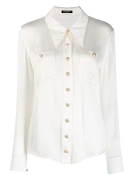 plisse-tailored-shirt by balmain