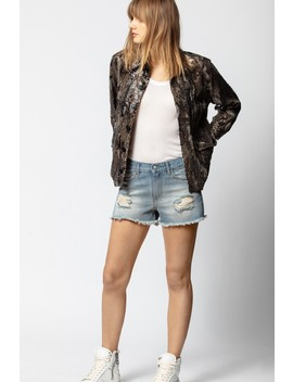 Parka Kim Sequins Camou                                                            by Zadig & Voltaire