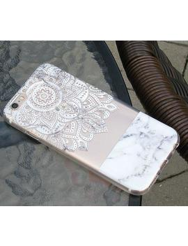 white-marble-mandala-clear-case-for-iphone,-samsung-galaxy-and-huawei-p30_p30-pro_pro20_p20lite---161 by etsy
