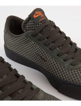 Nike Sb Orange Label Bruin Ultra 'ishod' Shoes   Sequoia / Medium Olive   Safety Orange by Nike Sb