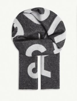 toronty-wool-blend-scarf by acne-studios