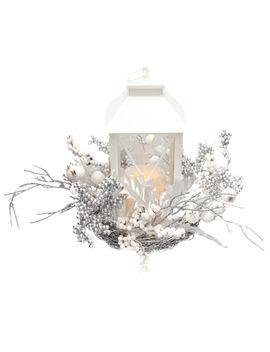 silver-berry-white-lanternsilver-berry-white-lantern by at-home