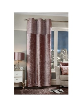 """sparkle-crushed-velvet-thermal-lined-panel-54-x-86""""---blush by b&m"""