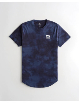 garment-dye-graphic-tee by hollister