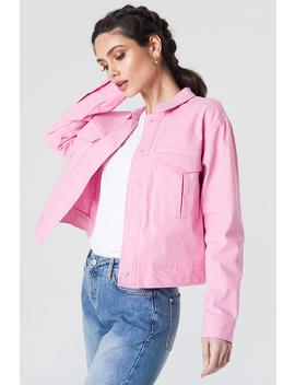 cotton-short-jacket-roze by na-kd