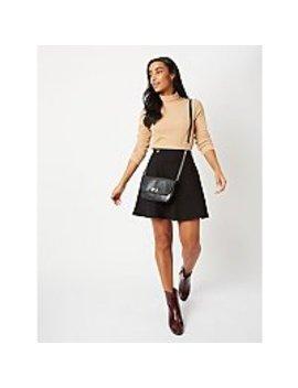 black-ponte-flippy-skirt by asda