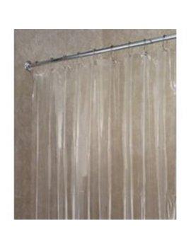 inter-design-14551-shower-curtain-liner-clear-vinyl by walmart