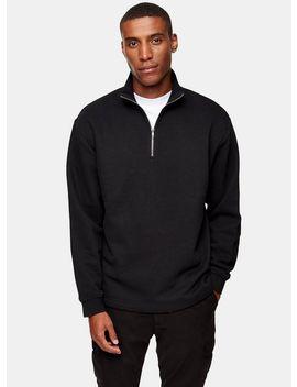 black-peached-1_4-long-sleeve-sweatshirt by topman