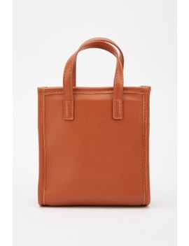 double-handle-mini-tote-bag by everything5pounds