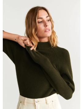 sweter-z-długim-raglanowym-rękawem by mango