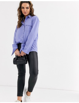 missguided-oversized-jersey-shirt-in-purple by missguideds