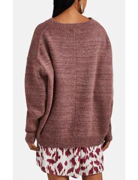 mander-mélange-wool-oversized-sweater by isabel-marant-Étoile