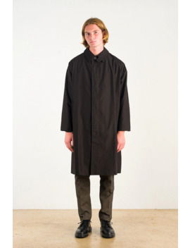 Menswear | Noah Trench, Black by Olive