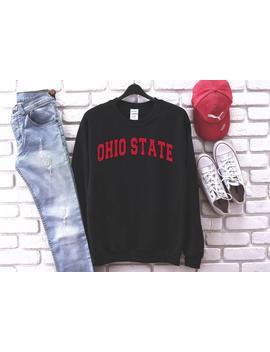 ohio-crewneck-sweatshirt-,ohio-sweatshirt-,ohio-football-,student-gift-,made-in-usa-,vintage-sweatshirt-,gift-for-men-or-women by etsy