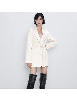 2019 Za Nouvellement Mode Bureau Dame Blanc Robe Femmes Automne à La Mode Décontracté à Manches Longues Travail Robe Automne Vêtements En Gros by Ali Express.Com
