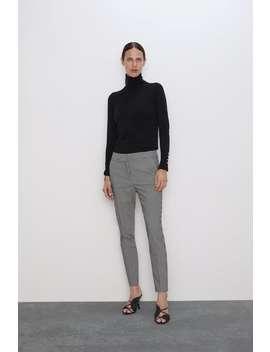 gingham-pants-view-allpants-woman by zara