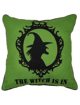 """reversible-witch-throw-pillow,-18""""-x-18""""reversible-witch-throw-pillow,-18""""-x-18"""" by at-home"""