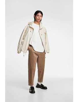 '80s-corduroy-chino-trousers by zara
